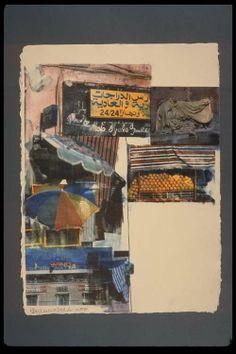 Robert Rauschenberg - Flaps (Marrakitch) (2000) Mix Media, Mixed Media Art, Contemporary Printmaking, Modern Art, Contemporary Art, Alone Art, Jasper Johns, Robert Rauschenberg, American Artists