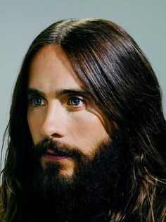 Jared Leto and his blue eyes....♡