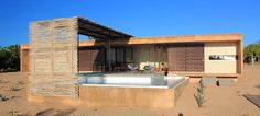 Todos Santos beach houses by Gracia Studio in the Baja region of Mexico. Credits to the Desire to Inspire blog!