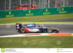 GP2 Series Formula Driven By Artem Markelov At Monza - Download From Over 35 Million High Quality Stock Photos, Images, Vectors. Sign up for FREE today. Image: 59094305