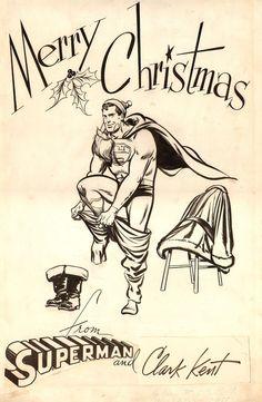 DC Comics 1945 Superman card