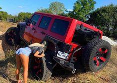 Jeep Wrangler Girl, Jeep Wj, Jeep Wrangler Rubicon, Jeep Truck, Jeep Wrangler Unlimited, Jeep Wranglers, Trucks And Girls, Car Girls, Jeep Baby