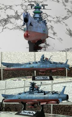 宇宙戦艦ヤマト2199 ~ 1/500 scale Bandai super detailed model kit of the Space Battleship Yamato.