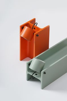 H-beam Lamp Series – Modern Office Design Industrial Office Design, Modern Office Design, Modern Industrial, Diy Luminaire, Luminaire Design, Interior Lighting, Lighting Design, Mood Lamps, Metal Bending