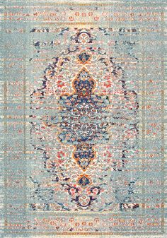 Chroma CB23 Hazy Damask Medallion Mirage Rug