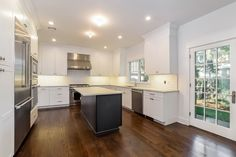 Gleaming kitchen with Thermador appliances
