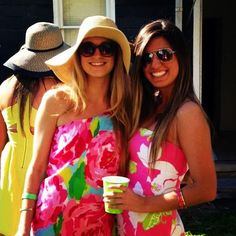 """Life's a Party, Dress like It!"" #lillysaid via @ kerrylynn7 Instagram"