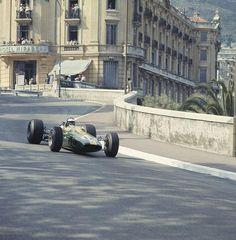 1967 Monaco Grand Prix Lotus 33