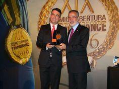 Presidente do CVG-RJ participa do Prêmio Cobertura Performance 2016