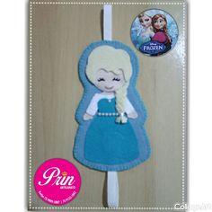 Lindo marcador de página de Elsa!!