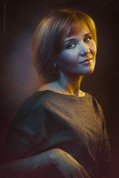 The Artist`s Wife portrait / Portrait / Alexey Lobur: professional photographer & retoucher
