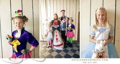 Check out these awesome costumes. Shot by Erin Johnson Photography in Minneapolis