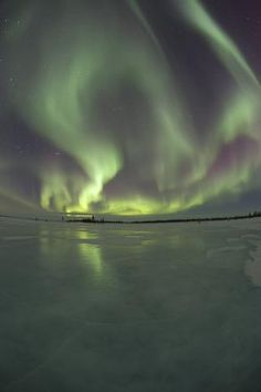 Alaskan cruise and see the northern lights