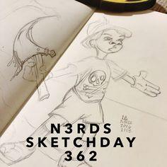 #wip #pinocchio #sketchaday #artlove #penandink #nerds #sketchbook #artnerd #acompanyofn3rds #dopeart #imayneednewglasses #n3rds #blerds #geeks #illustration #camu #moleskine #Iamanartist