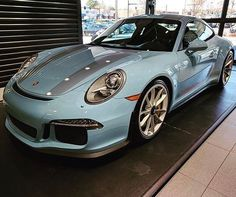 """1,815 Likes, 24 Comments - #PTSGT3 (@ptsgt3) on Instagram: """"I have officially found my favorite #painttosample 911 R. This #pts Gulf Blue variant is absolutely…"""""""