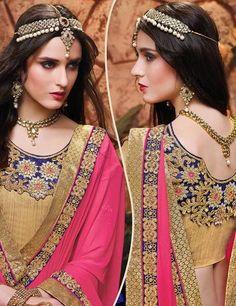 Bridal and Engagement Lehenga Choli Lehenga Choli Online, Ghagra Choli, Lehenga Blouse, Bridal Lehenga Choli, Silk Dupatta, Indian Dresses, Indian Outfits, Bollywood Lehenga, Pretty Asian Girl