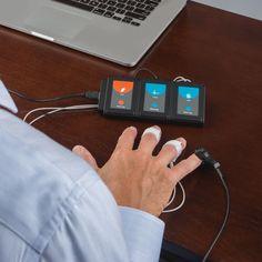 The Home Lie Detector Test - Hammacher Schlemmer