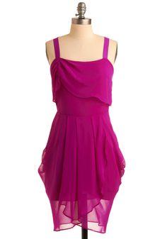 Rubellite Waves Dress - Reminds me of Megara from Hercules.