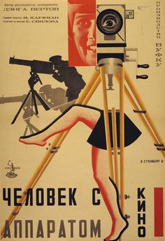 Stenberg Brothers, The Man with the Movie Camera, Tziga Vertov, 1929