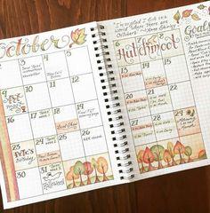 Beautiful October's log
