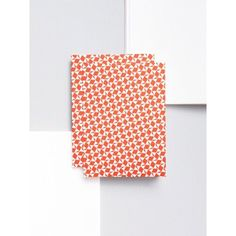 Victor print pocket notebook in red | each of our notebooks are sewn with a layflat binding allowing the pages to be used simultaneously and the book to lay open at a chosen page. #stationery #madeintheuk #pattern by ola_studio