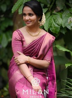 These Real Brides Proved Less Is More In Minimalist Bridal Silk Sarees!! • Keep Me Stylish Bridal Silk Saree, Silk Sarees, Saris, Saree Wedding, Christian Bridal Saree, Christian Bride, Indian Bridal Outfits, Indian Bridal Wear, Kerala Bride