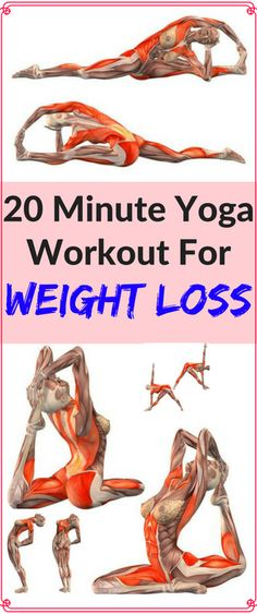 20 Minute Yoga Workout For Weight Loss - Workout Hit