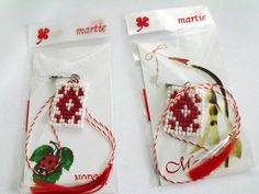 Beaded Spring Amulets. Amulets, Christmas Ornaments, Holiday Decor, Spring, Desserts, Projects, Handmade, Food, Tailgate Desserts