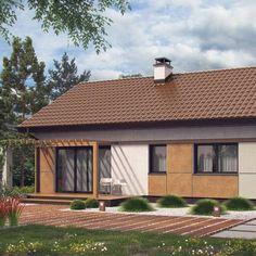 Z253 to wyjątkowy dom z kategorii projekty domów tanich w budowie Gazebo, Outdoor Structures, House, Projects, Kiosk, Home, Haus, Cabana, Houses