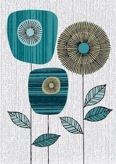 Beautiful illustration #print #design