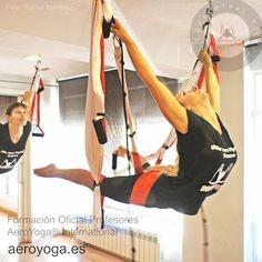 Cursos AeroYoga ® International (Yoga Aereo Formación Profesores)