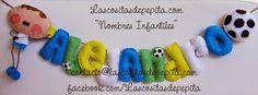 Las cositas de Pepita: Nombres de Fieltro para los amantes del Futbol