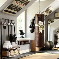 Shape up a dedicated room in your own home for exercise with these fit for purpose home gym and training room ideas