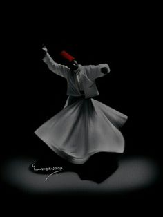#Sufi #rumi #dervish Persian Calligraphy, Islamic Art Calligraphy, Girly Images, Whirling Dervish, Islamic Paintings, Sufi Poetry, Iranian Art, Turkish Art, Anime Love Couple