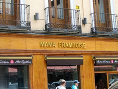 Mamá Framboise, delicious pastries to enjoy there or take away