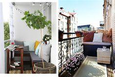 Meble i dodatki na balkon.