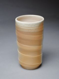 Tumbler Wine Cup Wood Fired by JohnMcCoyPottery on Etsy, $26.00     www.etsy.com/shop/JohnMcCoyPottery