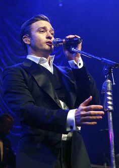 Justin Timberlake performed at The Forum in London following the Brit Awards. #JustinTimberlake
