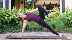 Baptiste Yoga: 8 Warming Winter Poses. In this heat-building sequence, master Baptiste Yoga teacher Leah Cullis stokes your inner fire and gets you deeper into your body.