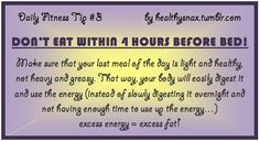 Daily Fitness Tip #3