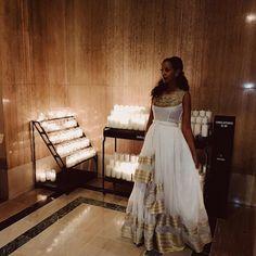 እንኳን ለብርሃነ ጥምቀቱ አደረሳችሁ YAMRAL TIBEB HAND EMBROIDERED www.shopyamral.com Traditional Wedding Attire, Traditional Fashion, Traditional Dresses, Ethiopian Wedding Dress, Ethiopian Dress, Habesha Kemis, Eritrean, Grad Dresses, Bridesmaid Dresses