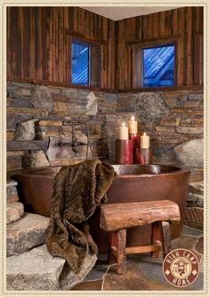 Rustic Bathroom http://media-cache2.pinterest.com/upload/30821578669331242_TsAB2rxG_f.jpg creativi_t home present or future