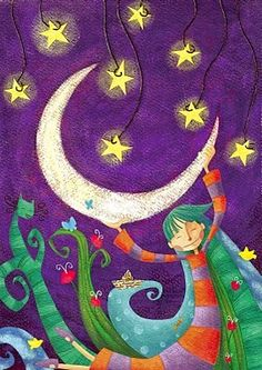 Il·lustracions a la llum de la lluna / Ilustraciones a la luz de la luna / Illustrations in the light of the moon