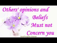Abraham Hicks 2016 - Others' opinions and beliefs must not concern you(New) - YouTube
