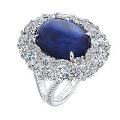 Fabergé Devotion Cabochon Sapphire 9.75cts Ring #Fabergé #sapphire #ring