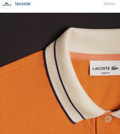 eb80aa154335 polo collar … Lacoste Polo Shirts