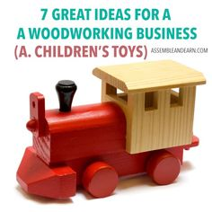 7 ideas for a succesful woodworking business