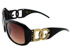 DG Eyewear GLITTER LOGO Style FRAME Design Sunglasses With Storage BAG (Gold Glitter, Black) DG Eyewear. $5.50. plastic frame. plastic lens. Lens width: 60 millimeters. non-polarized