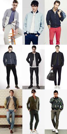 Men's Bomber Jacket Lookbook