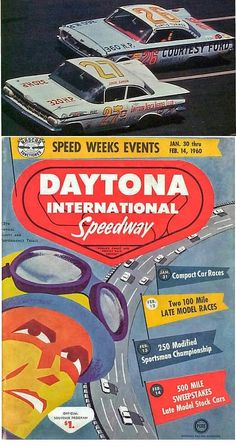 Junior Johnson enjoyed a memorable Valentine's Day when he powered his no. 27 1959 Chevy to victory at the second annual Daytona 500 on February 14 1960.  Race winner Johnson went on to achieve multiple accolades in the following years; including being inducted into the International Motorsports Hall of Fame in 1990 and being selected as one of NASCAR's 50 Top drivers in 1998.